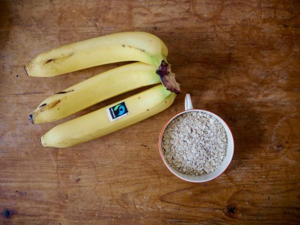 Bananen-und-Haferflocken