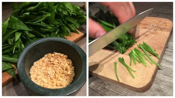 Bärlauchpesto mit Parmesan