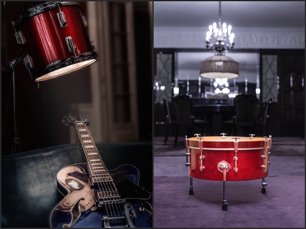 Design in Drums Collage