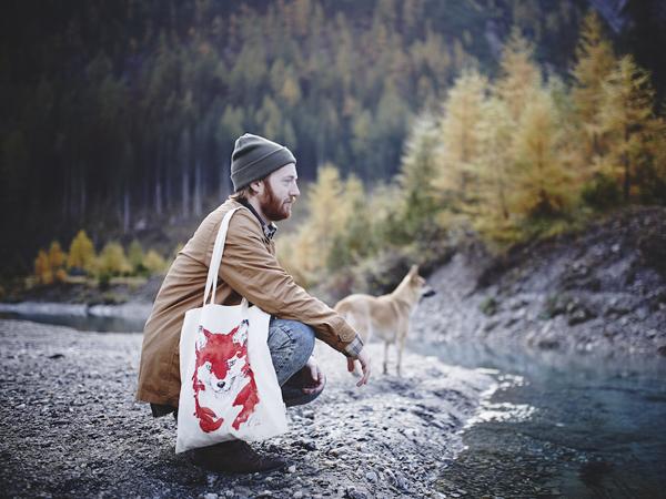 Fuxherz Tasche mit einem Fuchs ©Adrian Beck