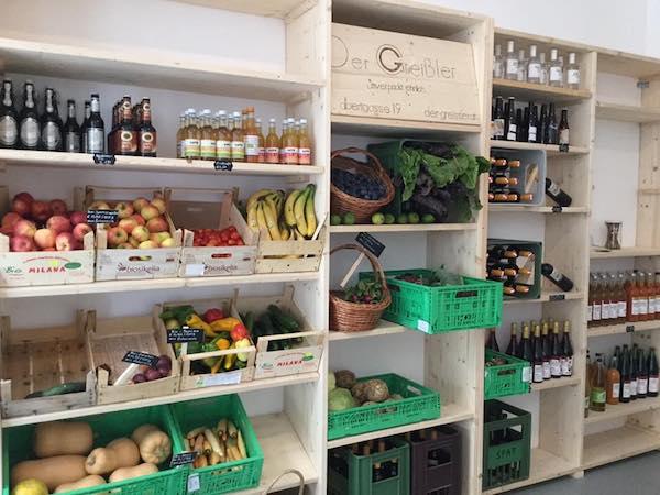 Obst & Gemüse beim Greißler in Wien