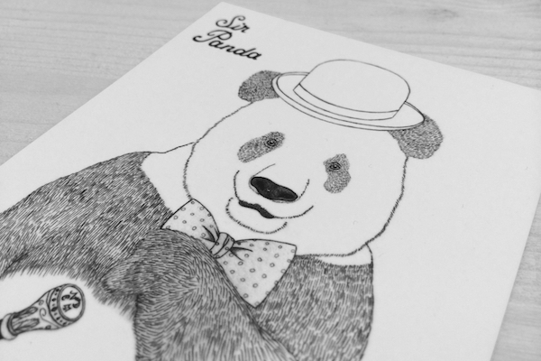 Illustration von NDCM - Sir Panda