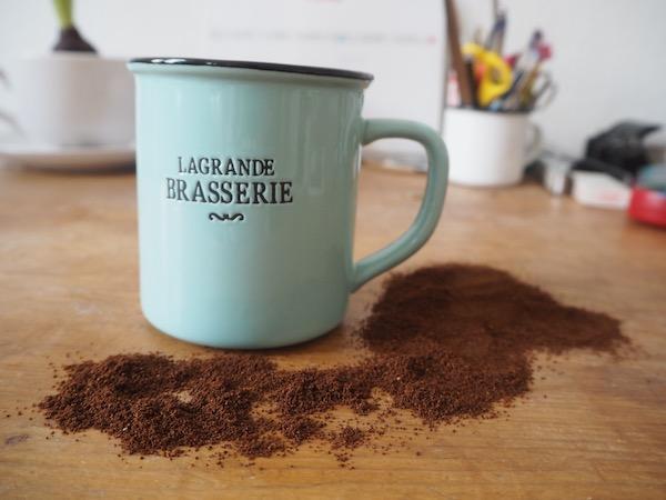 Kaffeesud & Email-Häferl
