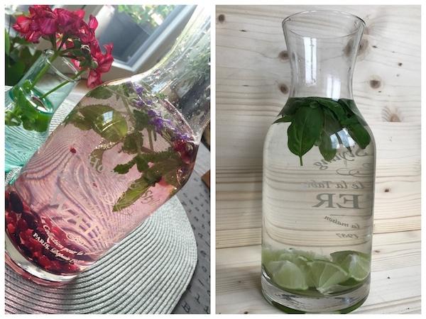 Wasser mit geschmack 5 erfrischende alternativen f r den sommer regionalis blog - Gurken dekorativ schneiden ...