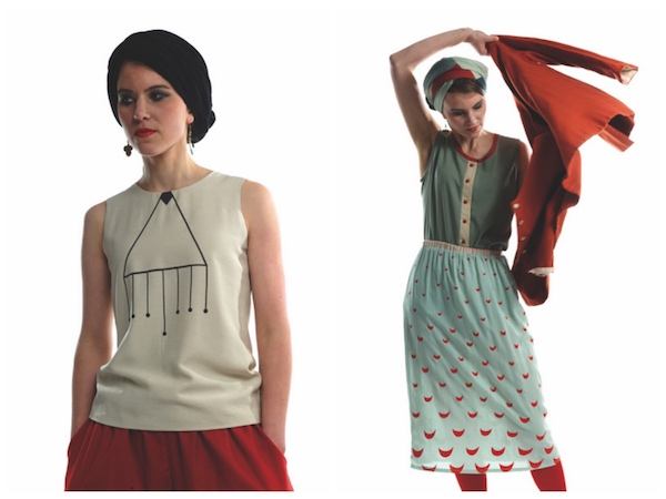 Linusch Mode - inspiriert durch die Wiener Werkstätte