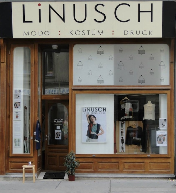 Das LiNUSCH Geschäft auf der Hernalser Hauptstrasse