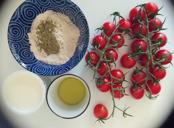 Zutaten für Tomaten-Tartelettes