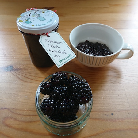 brombeer schokolade marmelade regionalis blog. Black Bedroom Furniture Sets. Home Design Ideas