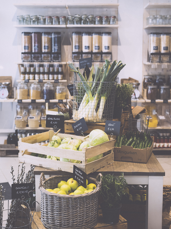 Verpackungsfrei Einkaufen in Wien - in der Warenhandlung