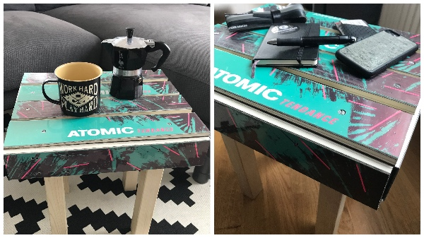 DIY Skihocker Details