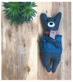 Handgenähter Teddybär