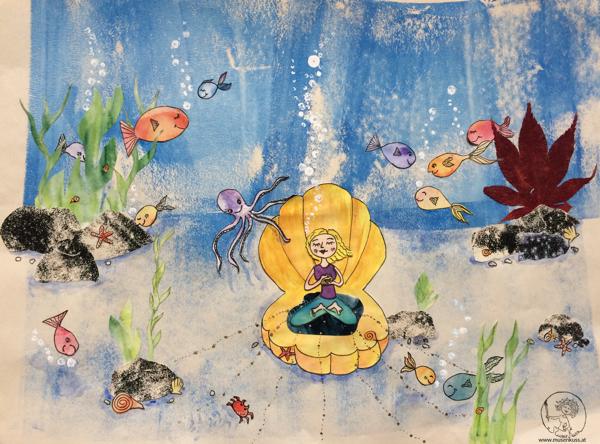 MusenKuss Illustration_UnderwaterLove