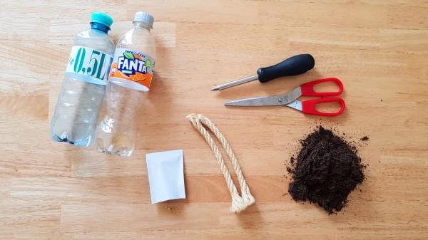 DIY Selbstbewässerungsanlage - Materialien
