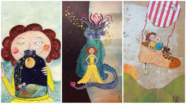 Musenkuss Illustrationen: Endless Summer / Ich lebe meine Kraft / Liebe liebt Langsamkeit