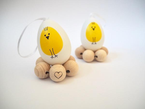 Selbstgemachte Eierbecher