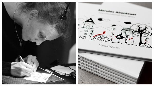 Michaela Duftschmid und ihr Kinderbuch Merulas Abenteuer