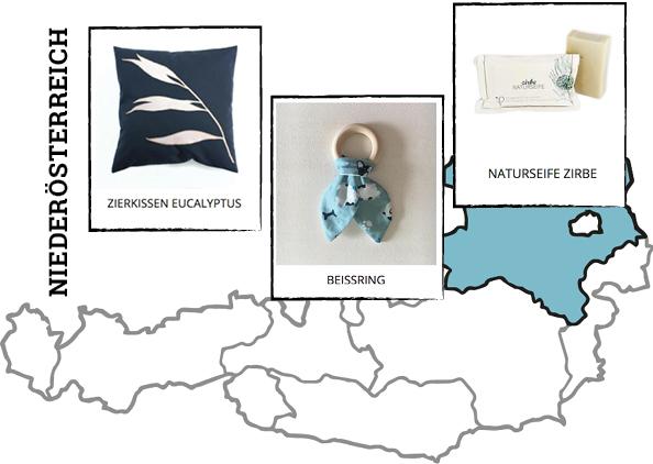 Regionale Produkte aus Niederösterreich auf Regionalis