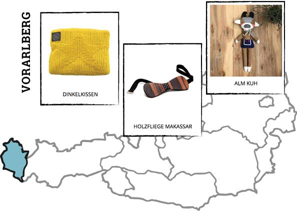 Regionale Produkte aus Vorarlberg auf Regionalis