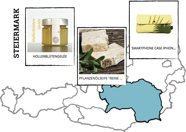 Regionale Produkte aus der Steiermark auf Regionalis