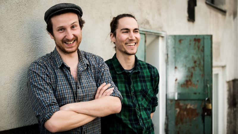 Manuel Bornbaum und Florian Hofer von Hut & Stiel