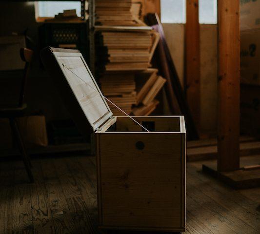 Die Wurmkiste - nachhaltige Kompostierung in der Wohnung