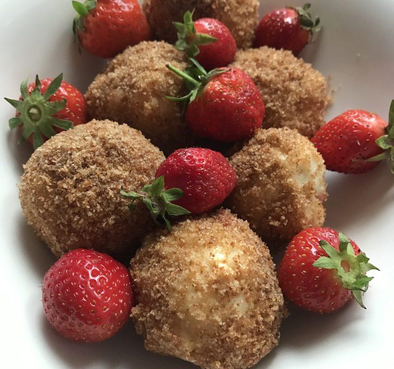 Rezept für Erdbeerknödel