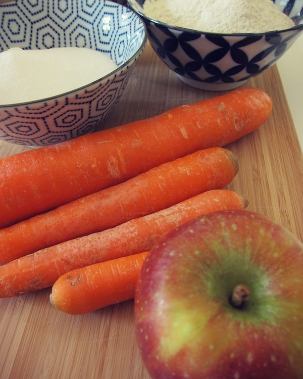 Rezept für süßen Karottenkuchen