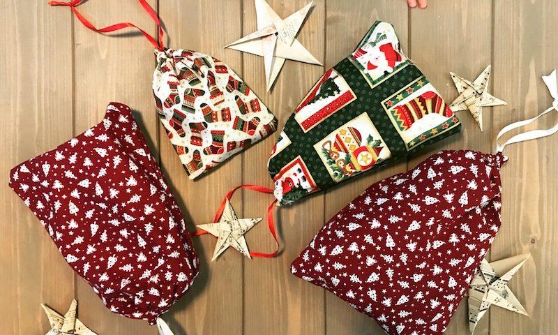 DIY Geschenksäckchen aus Stoff