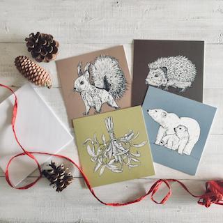 Stift17 - Weihnachtskartenset