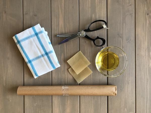 Material für Bienenwachstücher