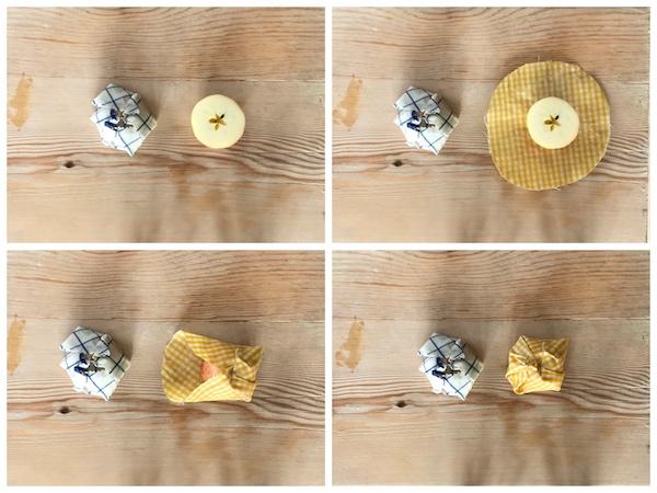 Bienwachstücher verwenden
