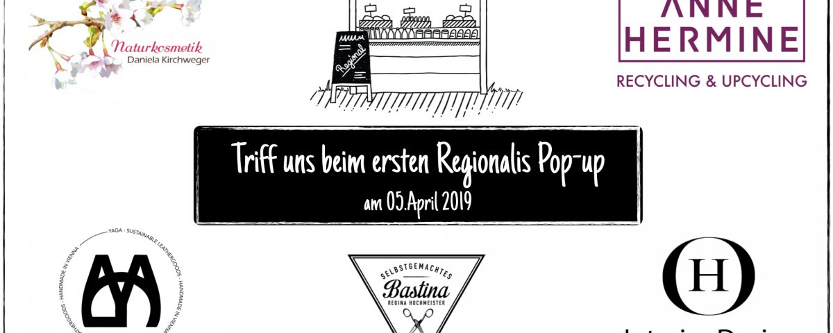 Regionalis Pop-up #01 - Vorankündigung