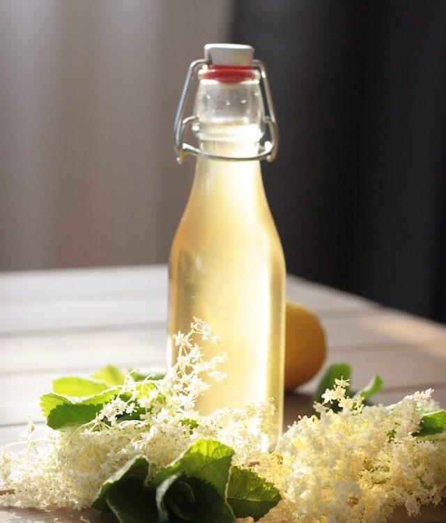 Holler-Minz Sirup - Rezept