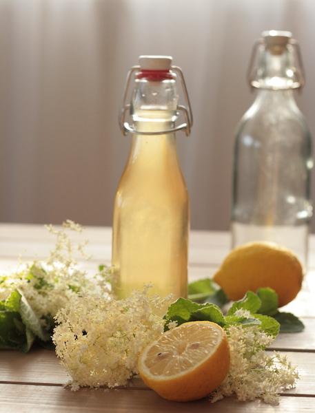 Rezept für Holler-Minz Sirup