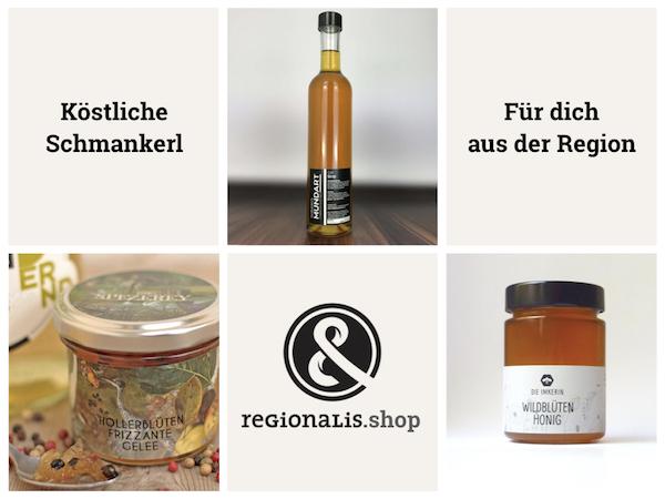 Regionale Schmankerl aus Österreich - am Regionalis Marktplatz