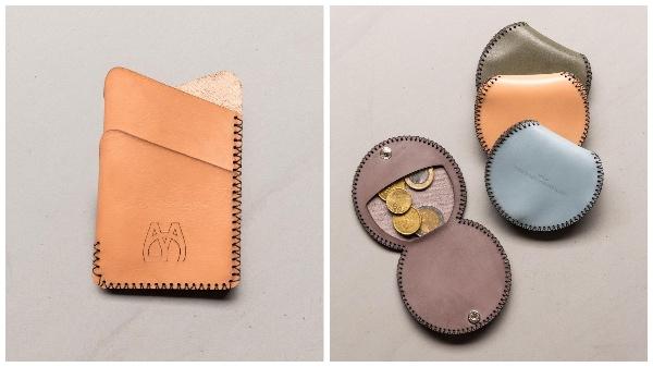 Kartenhalter und Kleingeldbörsen von YAGA