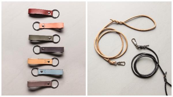 Schlüsselanhänger und Hundeleine von YAGA