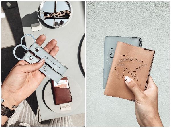 Schlüsselanhänger und Passhüllen von YAGA