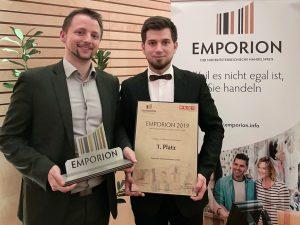 Regionalis - EMPORION Verleihung_Roland Rzihauschek und Peter Patak v.l.n.r.