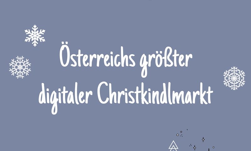 Österreichs größter digitaler Christkindlmarkt auf Regionalis