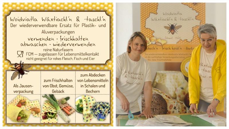 Waldviertler Wachstücher - von Barbara Apfelthaler und Ingrid Säuerl