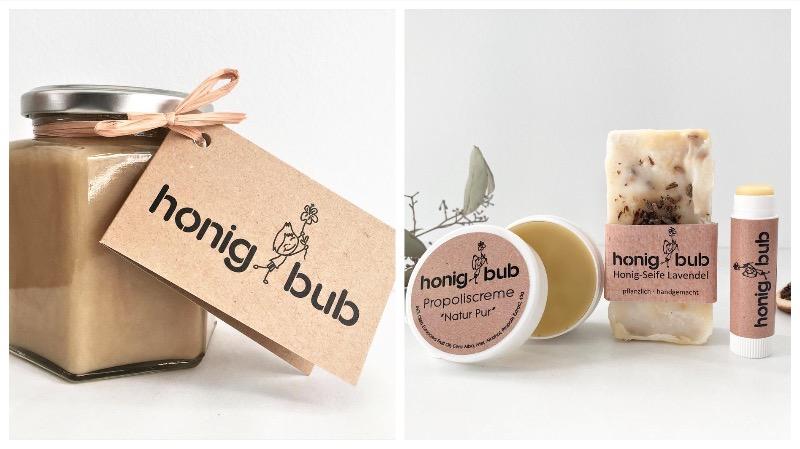 Honig und Naturkosmetik von honigbub aus dem Burgenland