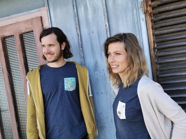 Marcel Bubits und Jennifer Bubits von honigbub